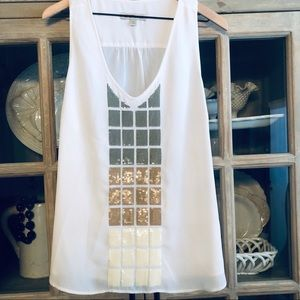 Banana Republic Heritage Collection Sequined Tank